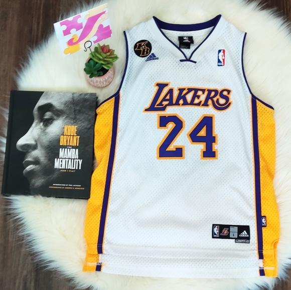 Lakers Kobe #24 Jersey L Youth/M Women's